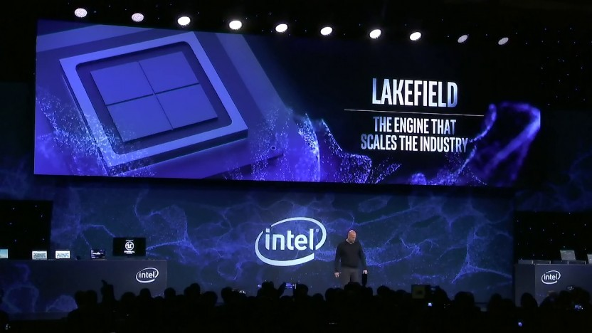 Intel zeigt Lakefield.