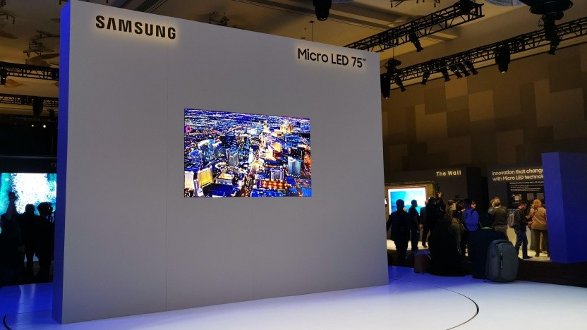 Der neue Micro-LED-Fernseher von Samsung