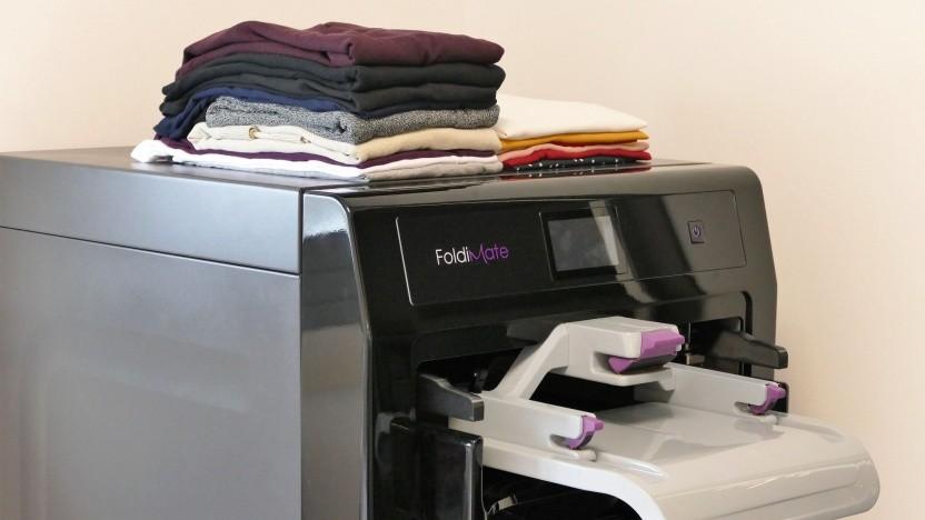 Haushaltsroboter Foldimate: Tests nach der CES