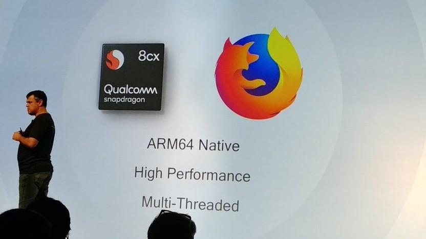 Always Connected PCs: Mozilla hat ARM64-Firefox für Windows 10 on