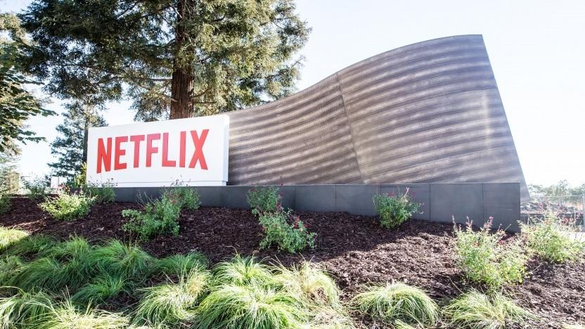 Der Netflix-Hauptsitz in Los Gatos