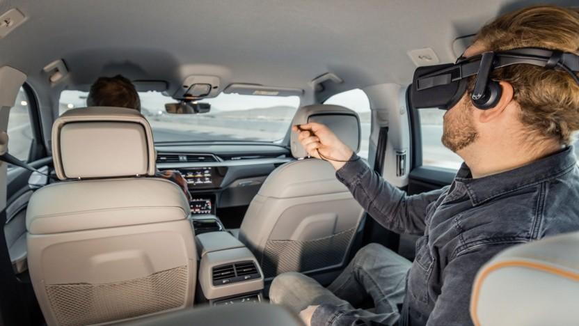 Virtual Reality im Auto