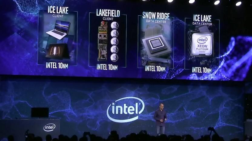 2019 und 2020 erscheinen diverse 10-nm-Designs.
