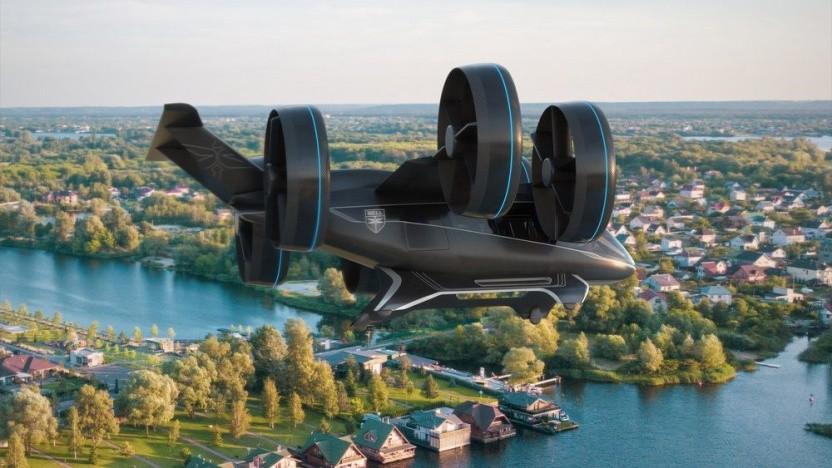 Flugtaxi Bell Nexus: soll auch militärisch genutzt werden
