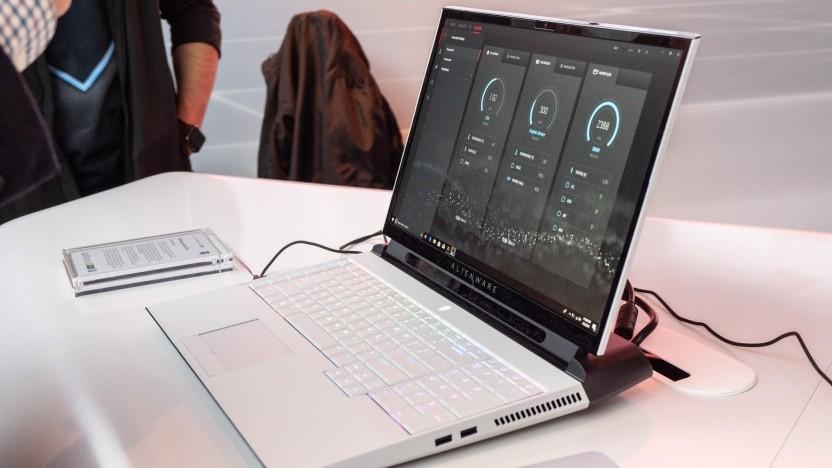 Das neue Alienware Area-51m von Dell