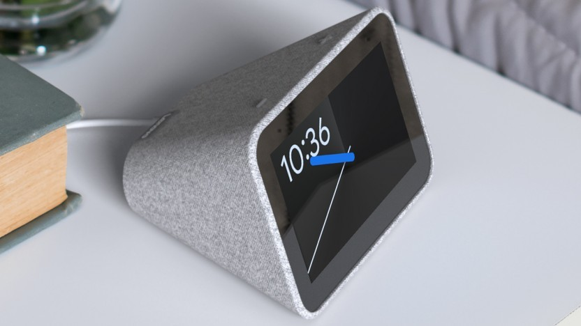 Smart Clock läuft mit Google Assistant.