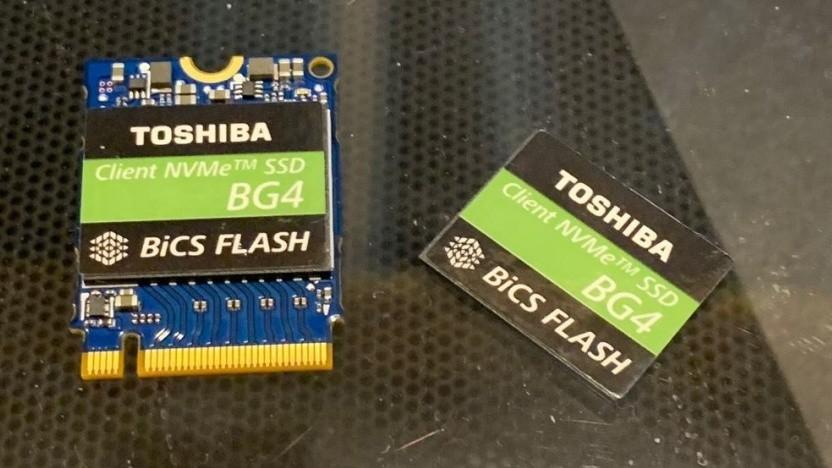 BG4-SSD als M.2-2230-Modul und als BGA-Package