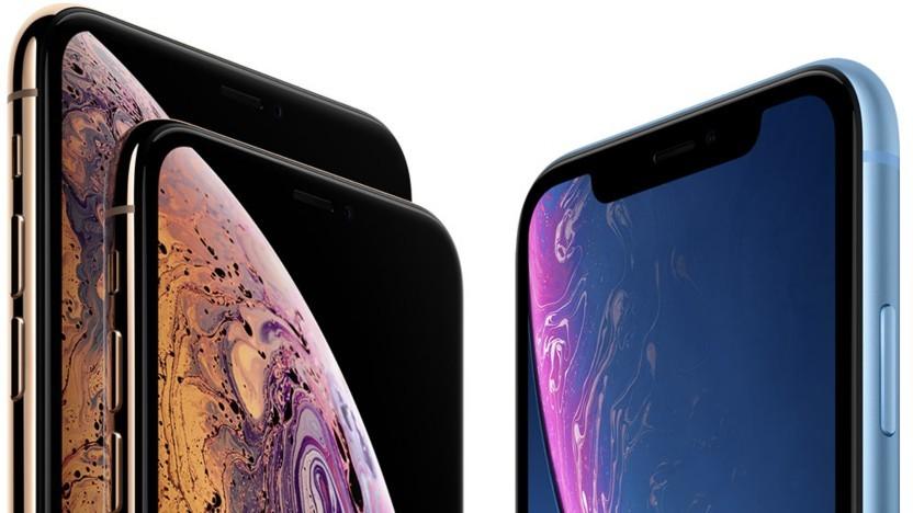 Aktuelle iPhone-Palette
