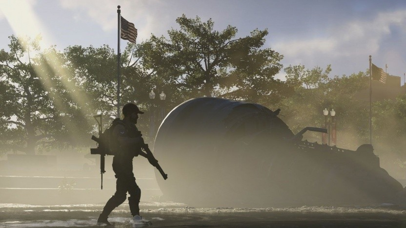 Artwork der PC-Version von The Division 2