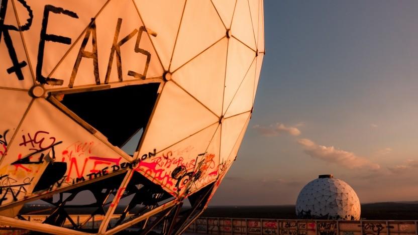 Die verlassene NSA-Field-Station auf dem Berliner Teufelsberg