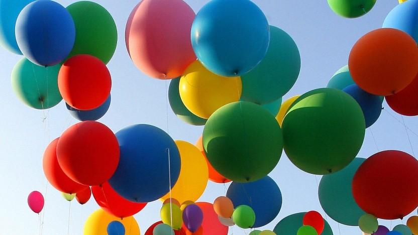 Auch Luftballons könnten unerlaubte Werbung sein.