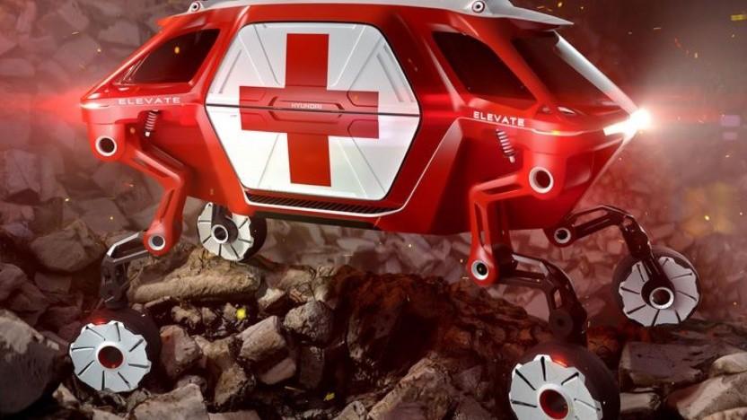 Hyundais Konzeptfahrzeug Elevate