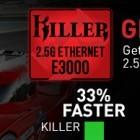 Killer E3000: Ein nächster Schritt zu 2,5-Gigabit-Ethernet in Notebooks