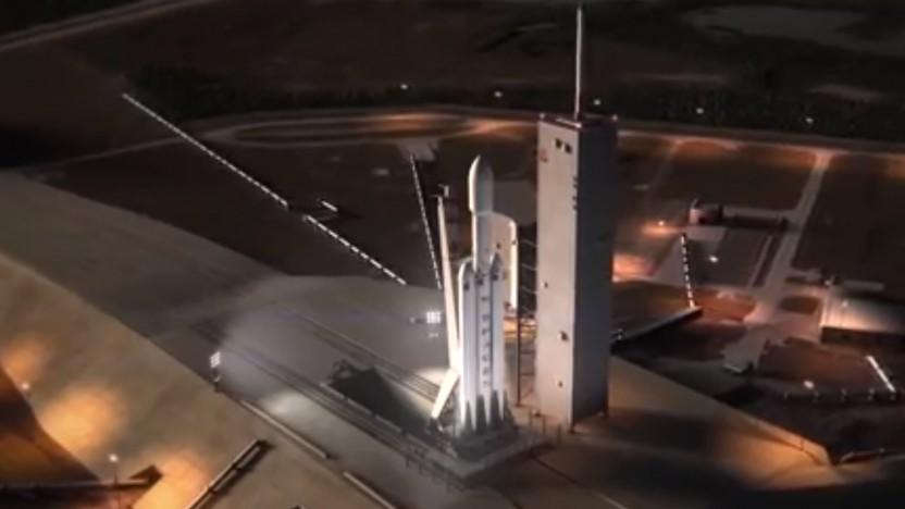 Die Falcon Heavy ist nur eines von vielen Projekten bei SpaceX.