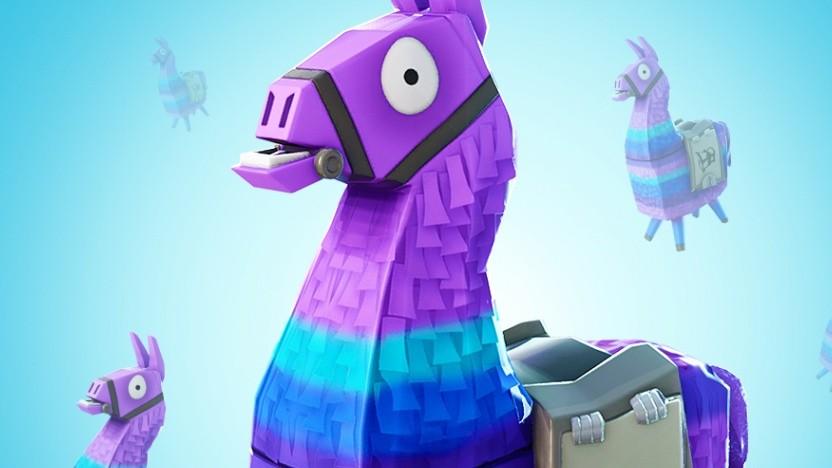 Das Lama aus Fortnite ist derzeit so etwas wie das Maskottchen von Epic Games.
