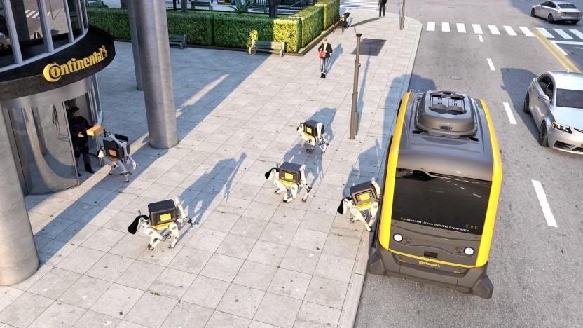 Autonome Lieferung per robotischem Vierbeiner: Transportkapazitäten besser nutzen, Leerlaufzeiten reduzieren