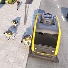 Continental: Autonome Paketzustellung mit People Mover und Laufroboter