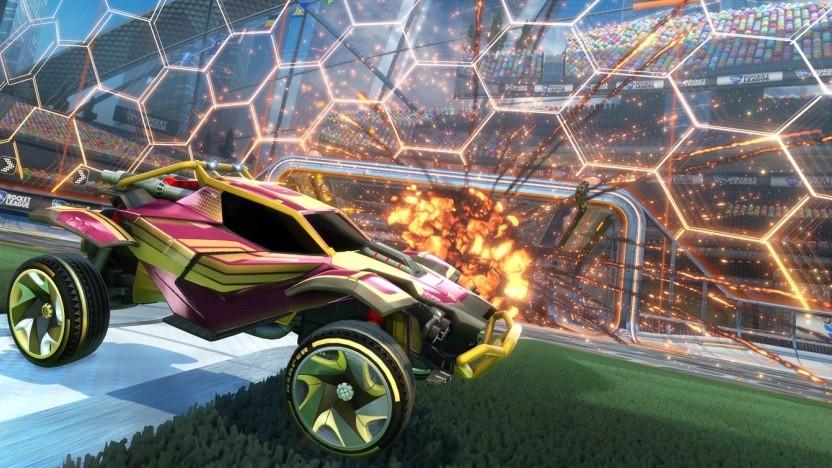 Artwork von Rocket League
