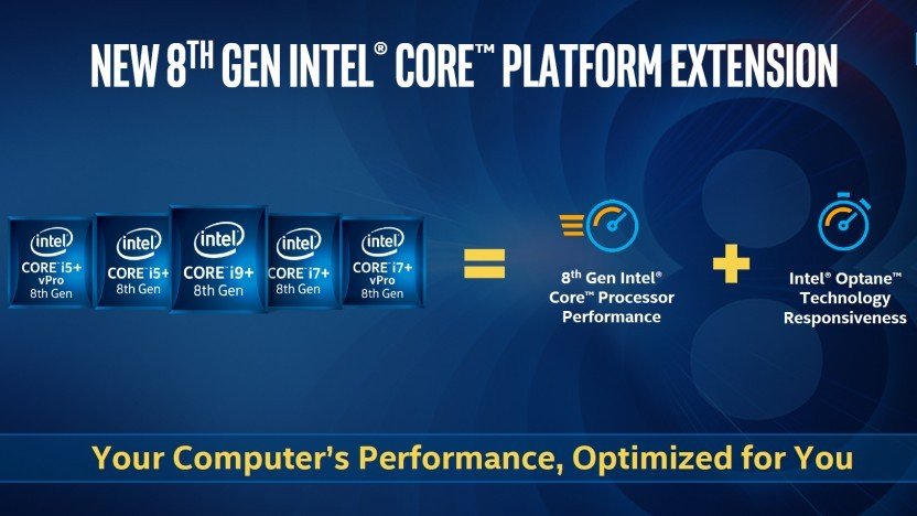 Core iX+ mit Optane Memory