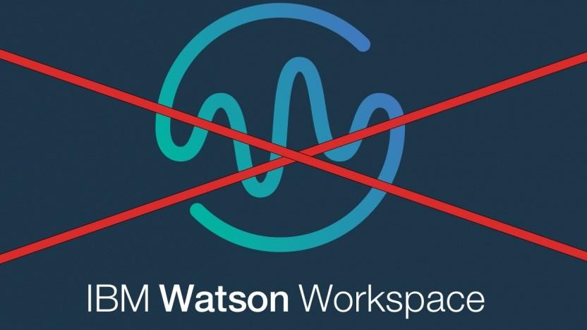 Watson Workspace wird wohl eingestellt.