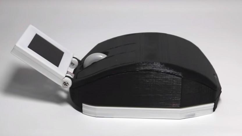 Beim genauen Hinsehen sind die rauen Flächen des 3D-Druckes erkennbar.