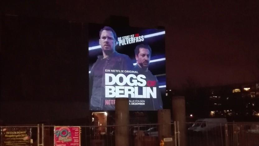 Netflix-Werbung in Berlin-Kreuzberg