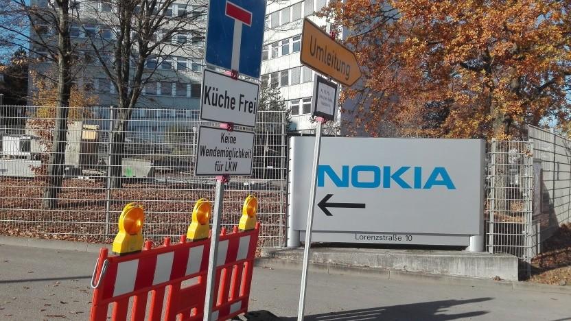 Nokia in Stuttgart: Der Konzern bleibt eine Baustelle.