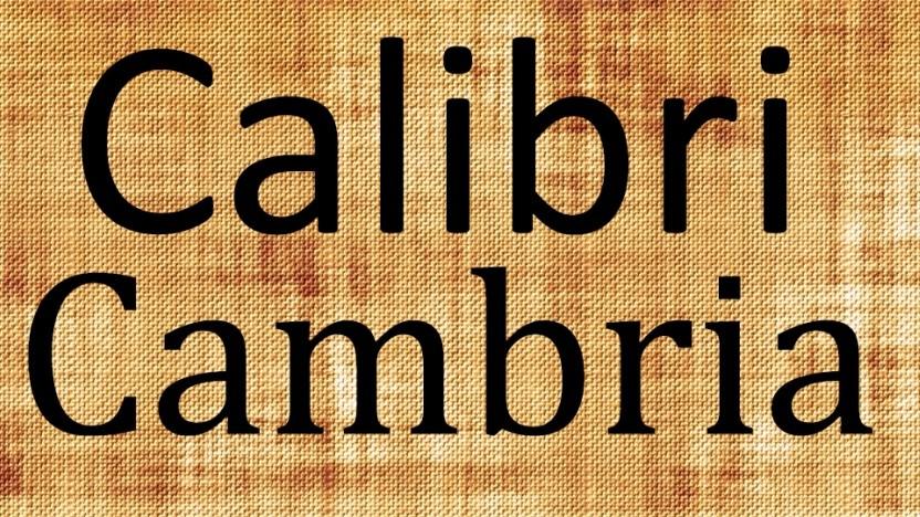 Calibri und Cambria sind zu jung, um ein Dokument von 1995 als echt gelten zu lassen.
