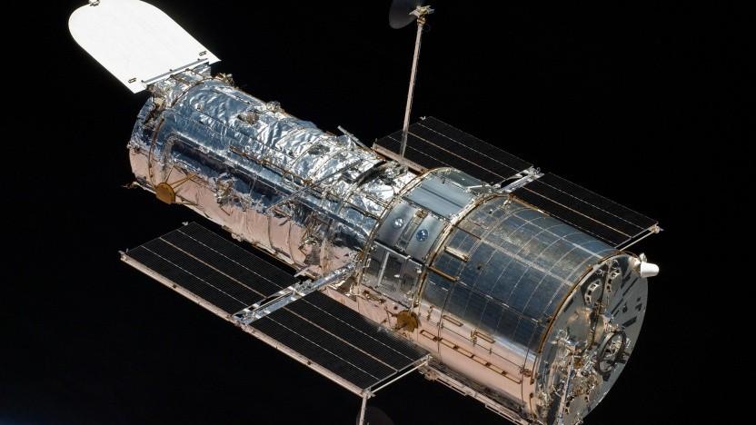 Weltraumteleskop Hubble: redundante Systeme für WFC3