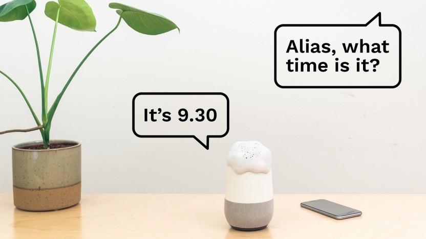 Den Google Home mit Alias ansprechen