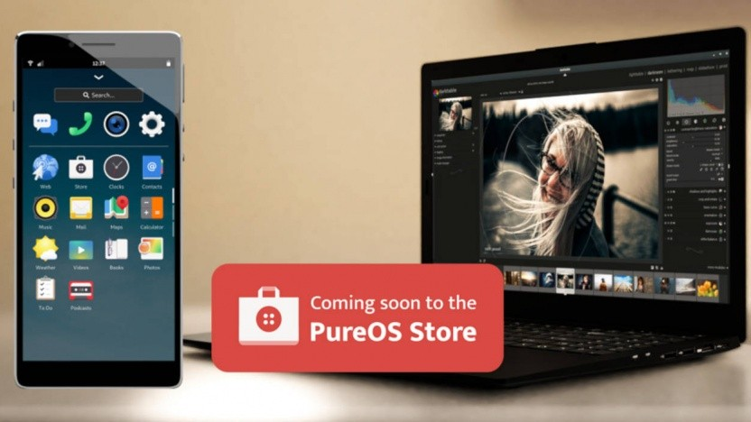 Der Appstore von Purism soll auf Smartphones und Laptops laufen.