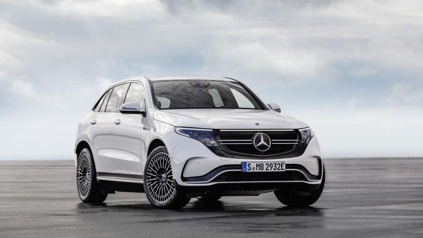 Elektroauto Mercedes EQC: Knutschkugel, Luxus-SUV und Sportwagen