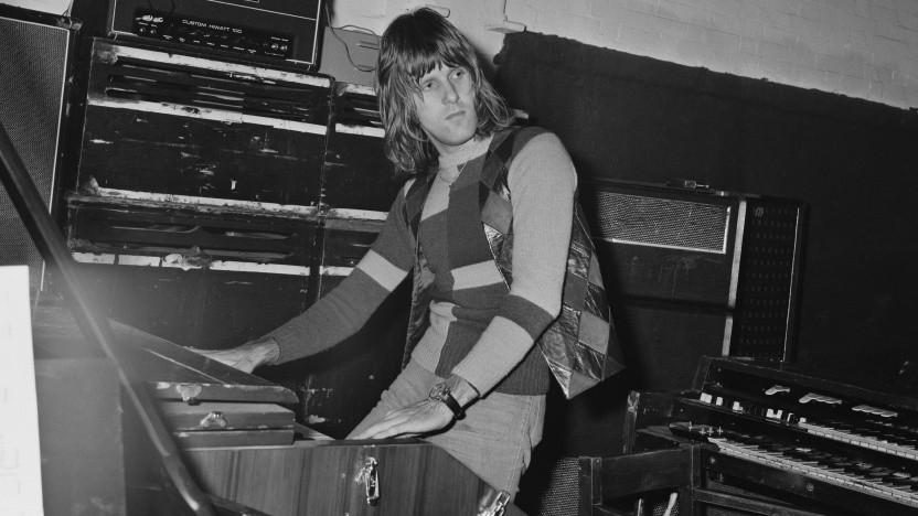 Kam 1971 noch ohne Midi aus: Keith Emerson von Emerson, Lake & Palmer