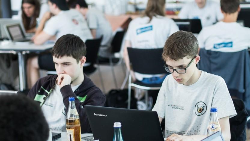 Aufnahme von der German Cyber Security Challenge 2018