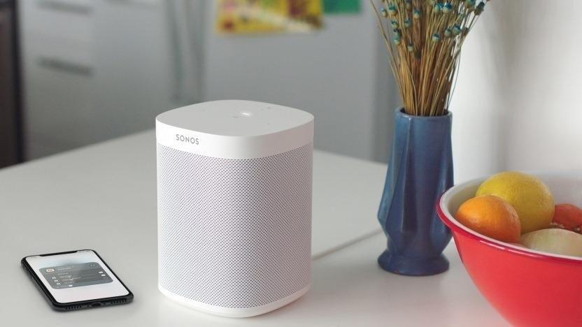 Sonos One läuft mit Alexa, wird aber Amazons Multiroom-Audio-System nicht unterstützen.