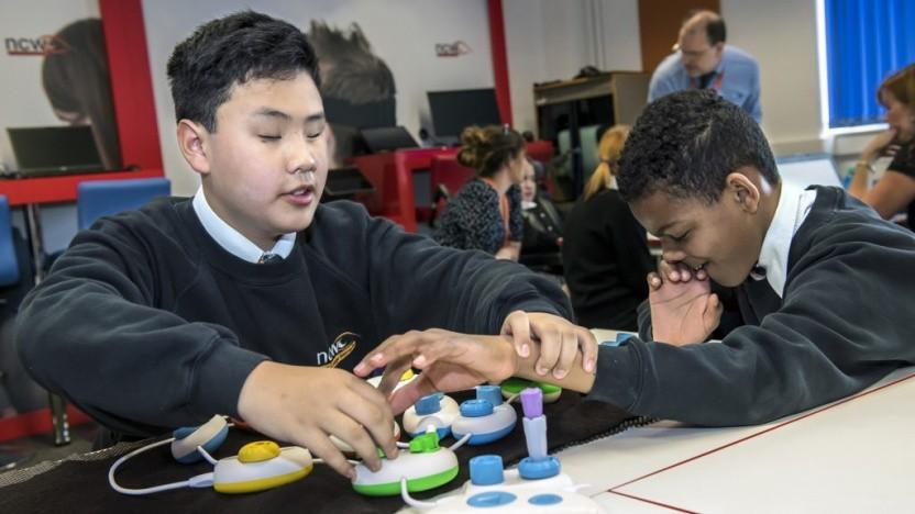 Physische Programmierung als Bildungsangebot für blinde und sehbehinderte Kinder
