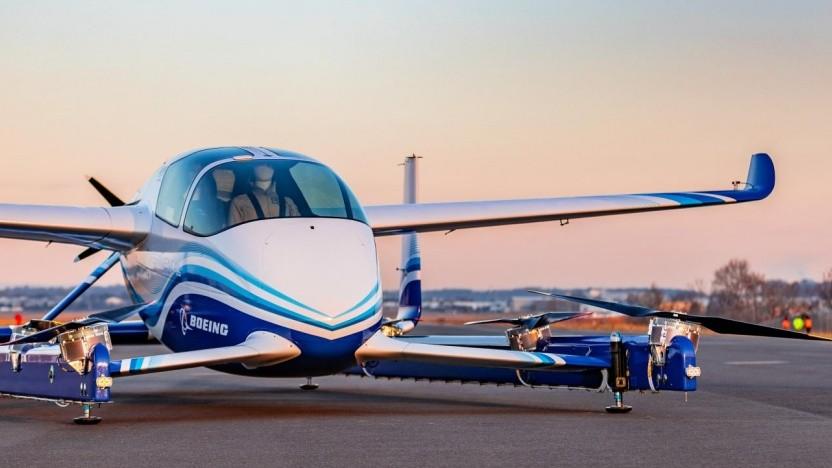 Boeings autonomes Flugtaxi PAV