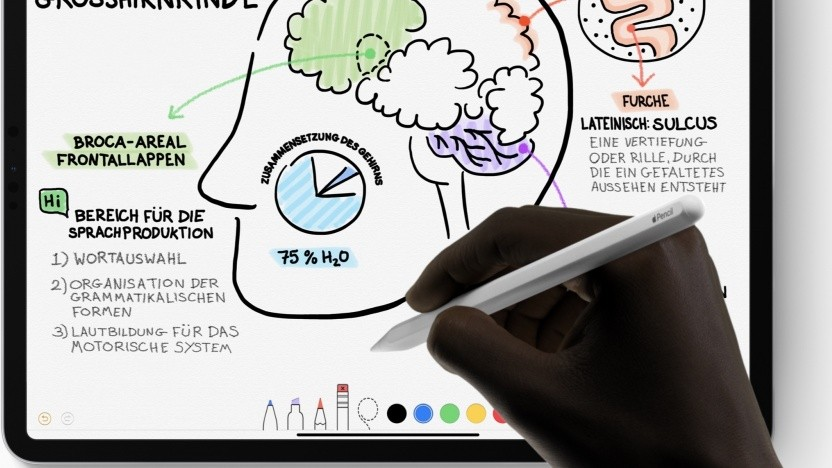 Zeichnen auf dem iPad Pro