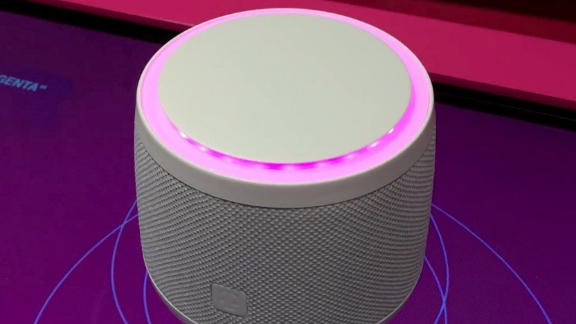 Der Smart Speaker der Telekom auf der Ifa 2018