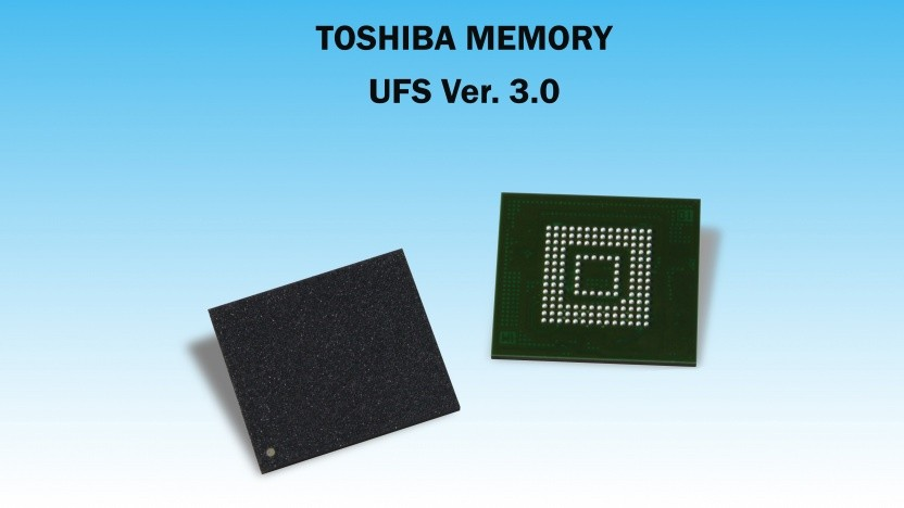 UFS 3.0 mit 96-Layer-NAND-Flash-Speicher plus Controller