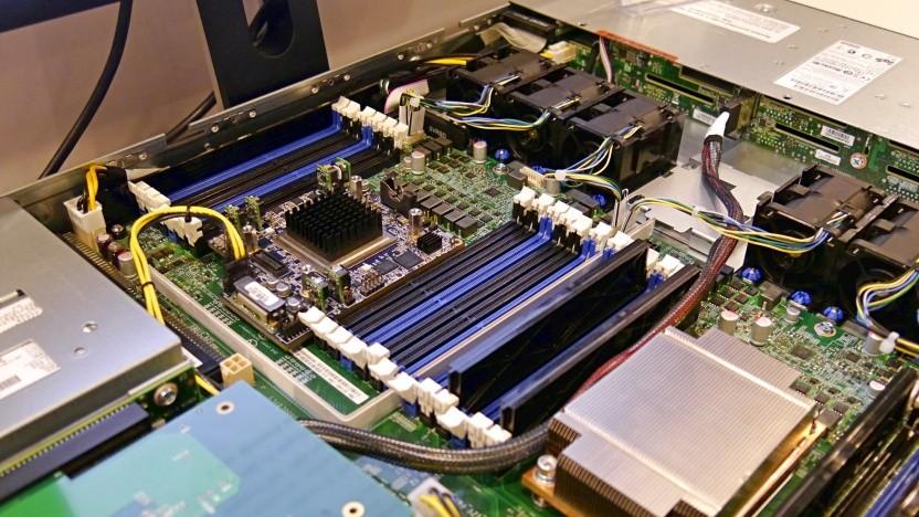 Die BMC sind zur Fernwartung der Server im Rechenzentrum gedacht.