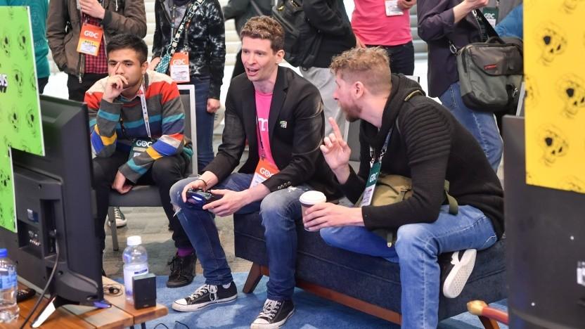 Spielentwickler auf der GDC 2018