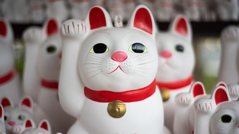 Ob diese japanische Glückskatze auch im Internet der Dinge ist?