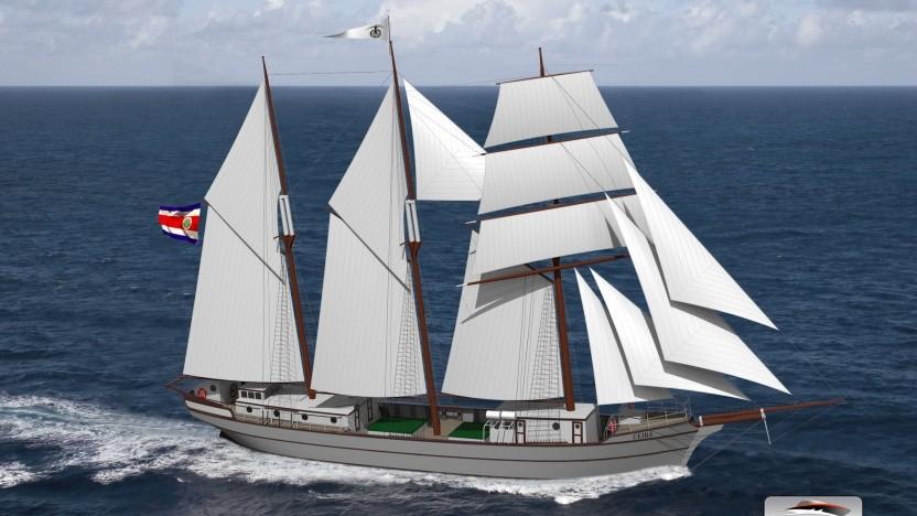 Frachtsegler Ceiba: Der Bau wird durch den Verkauf von Anteilen finanziert.
