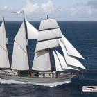 Ceiba: Kanadische Reederei baut Schiff mit Segeln und E-Antrieb