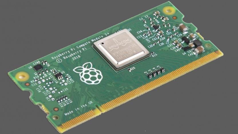 Das Compute Module 3+ kommt im RAM-Formfaktor auf den Markt.