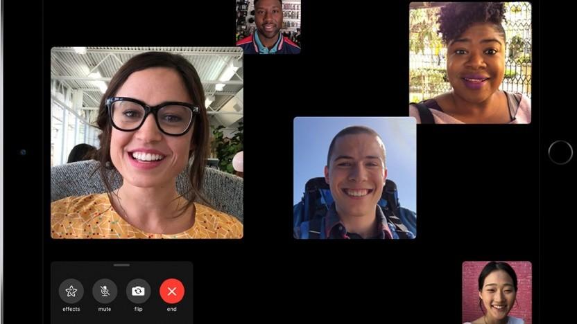 Gruppen-Facetime unter iOS