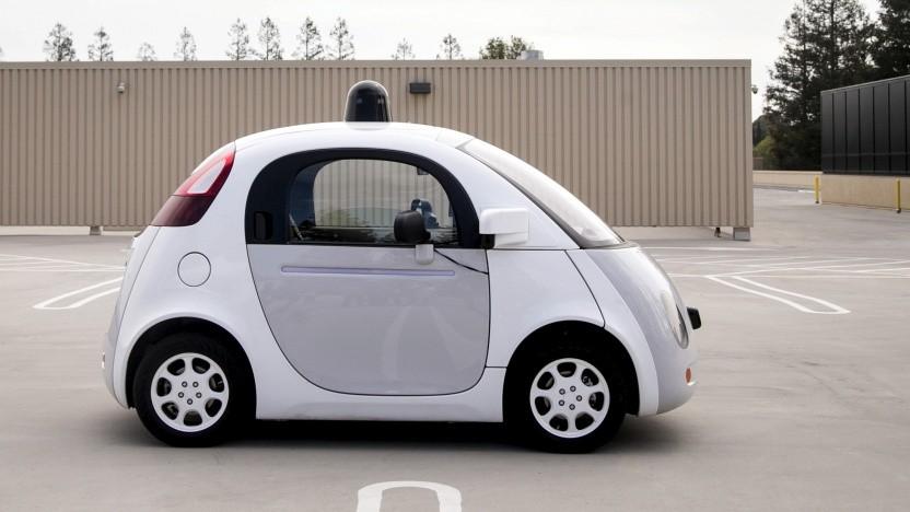 Autonomes Google-Auto: Kinder hinter einem geparkten Auto zu sehen, bedeutet ein höheres Maß an Sicherheit
