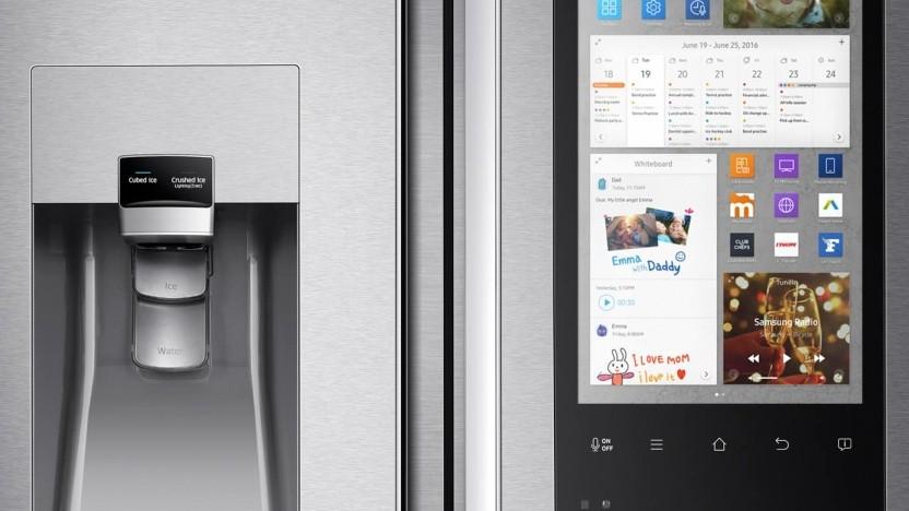 Künftig mit Recht auf Software-Update: smarter Kühlschrank von Samsung