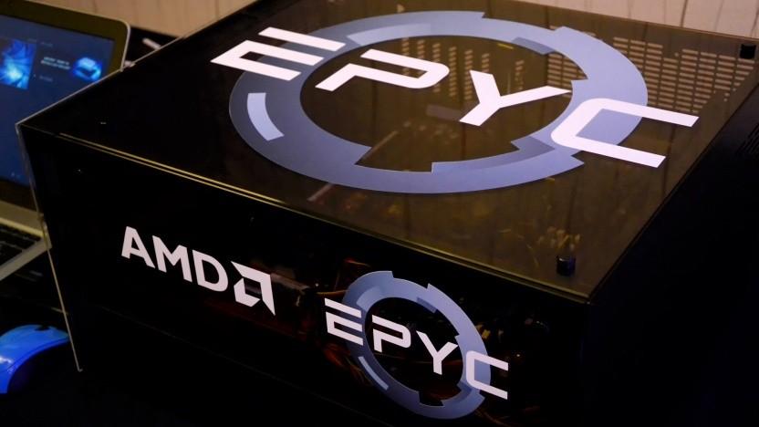 Das Server-Geschäft mit AMDs Epyc nimmt Fahrt auf.